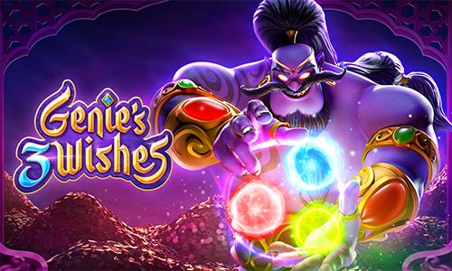 Genie's 3 Wishes Slot